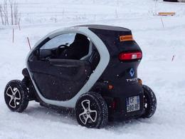 (Vidéo) La Renault Twizy sur glace à La Clusaz