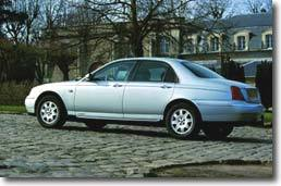 Rover 75 : le luxe à l'anglaise