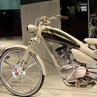 Caradisiac au Tokyo Motorshow: Le Yamaha Y MOEGI 125 déchire la rétine