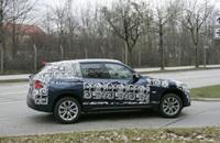 Le futur BMW X1 se dénude... tout doucement
