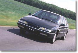 Citroën XM : Quelques écarts de   jeunesse...