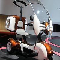 Caradisiac au Tokyo Motorshow: Honda et son E-Canopy