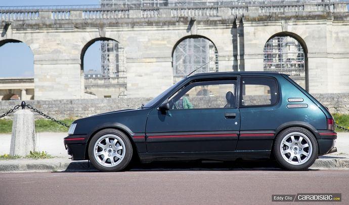 Photos du jour : Peugeot 205 GTI 1.9 (Vincennes en Anciennes)