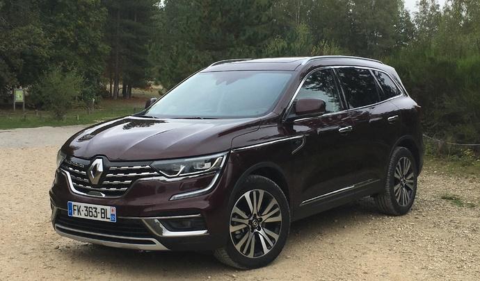 Renault Koléos restylé: premier contact en vidéo live