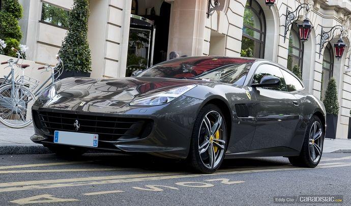 Photos du jour : Ferrari GTC4 Lusso