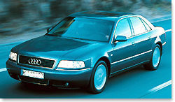 Audi A8 : La discrétion royale