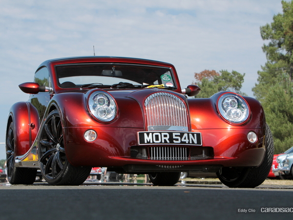Photos du jour : Morgan Aero Supersport (Le Mans Classic)