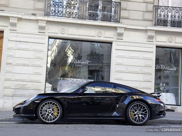 Photos du jour - Porsche 911 991 turbo S
