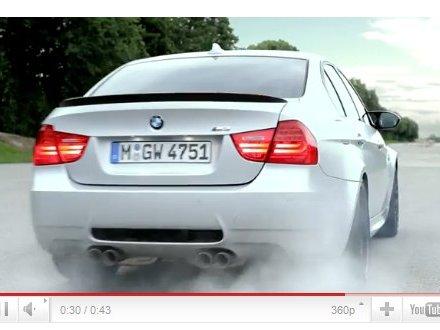 Nouvelle BMW M3 CRT : premières vidéos