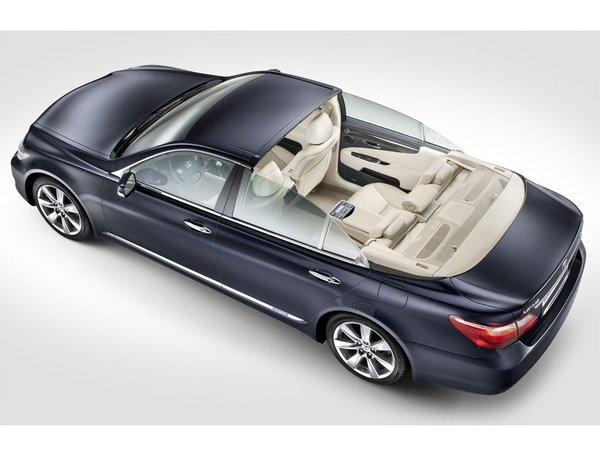 Lexus LS600h Landaulet : la voiture officielle du mariage du Prince Albert de Monaco