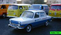 Miniature : Simca 1000 commerciale