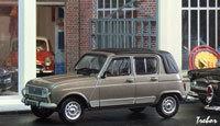 Miniature : 1/43ème - RENAULT R4 GTL Découvrable