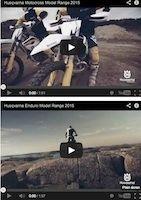 Husqvarna 2015: les vidéos promos et taros