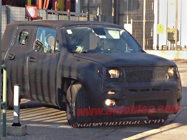 La petite Jeep présentée à Genève s'appellerait Laredo