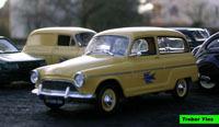 Miniature : Simca P60 Ranch