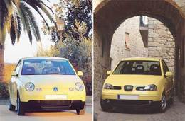 Seat Arosa/Volkswagen Lupo   De l'art du clonage…