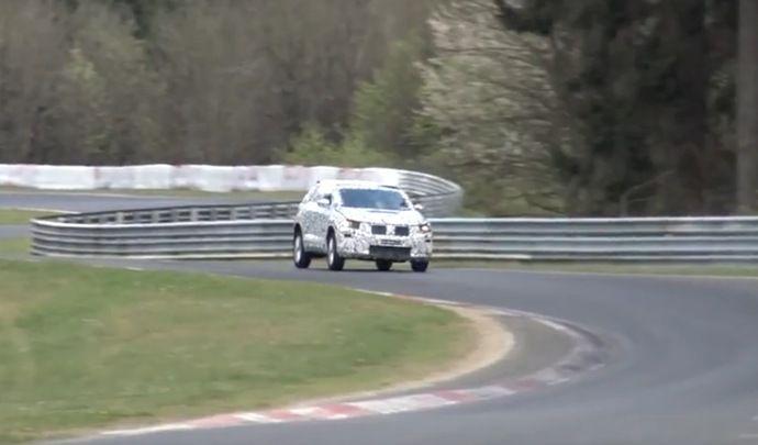 Le Volkswagen T-Roc s'attaque au Nürburgring