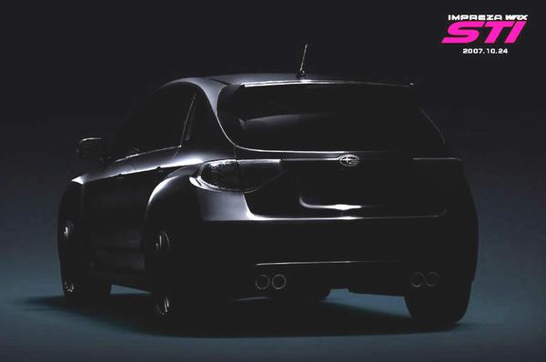 Subaru Impreza STi: Teasing Acte 2