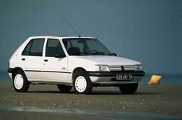 Peugeot 205 : Un numéro en or !