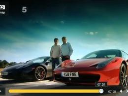 Fifth Gear : McLaren MP4-12C vs Ferrari 458 Italia, les nouvelles rivales