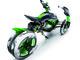 Une Kawasaki à 4 roues en préparation!