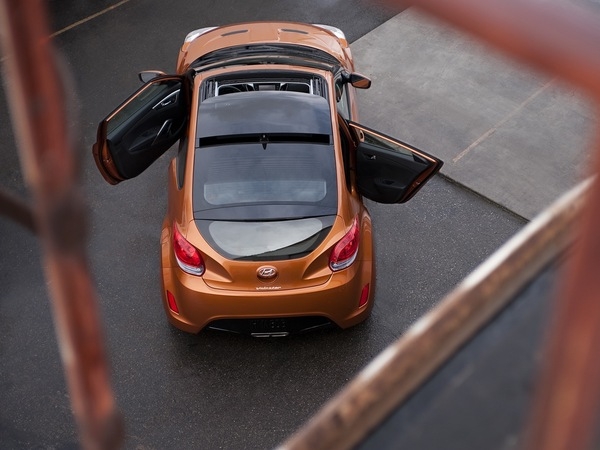 Hyundai Veloster: bientôt la 5ème porte?