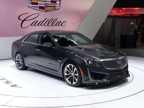 Cadillac : 98 500 € pour la nouvelle CTS-V en Europe