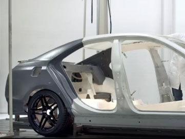 Désossée: s'agit-il de la future Cadillac ATS?