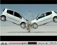 Vidéo Pub: Renault Crash test ballet