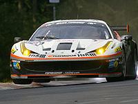 24 Heures du Nürburgring - Une Ferrari 458 en pole!