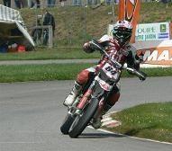 Supermotard à Cahors : Sylvain Bidart, champion de France S 1