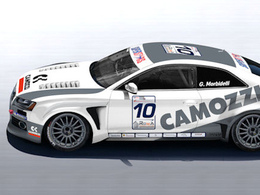 Une spectaculaire Audi RS5...