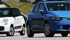 Dieselgate: la Clio et la Fiat 500 en ballotage défavorable