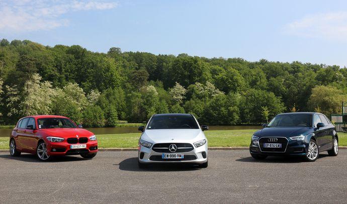 Comparatif - Mercedes Classe A (2018) vs Audi A3 Sportback et BMW Série 1 : une question de domination