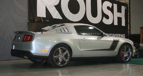 Mustang Roush 427R : tuning prénatal