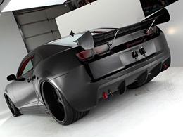 La préparation parfaite : une Chevrolet Camaro SS de 1400 chevaux avec un look furtif