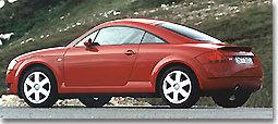 Audi TT coupé : de la fougue et du style