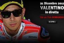 "Moto GP - Valentino Rossi: AGV et Dainese vous organisent une interview avec le ""Doctor"""