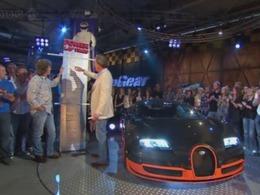 Top Gear : la Bugatti Veyron Super Sport bat le record de la piste détenu par la Gumpert Apollo