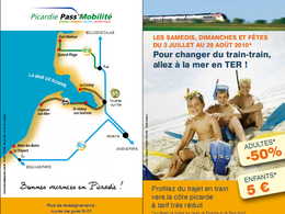 """Tourisme en Picardie : c'est parti pour l'opération """"Trains à la mer 2010"""""""