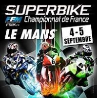 Championnat de France SBK : Ce week-end au Mans