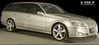 Mercedes X300R Tuning par Intercardesign :  germano-italo-coréenne ?