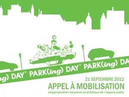 Demain, c'est le Park(ing) Day !