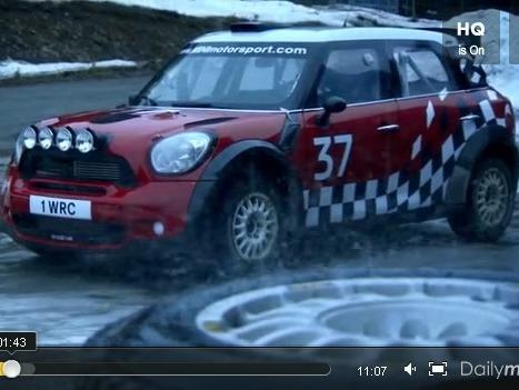 Top Gear : Mini Countryman WRC vs luge, qui l'emportera ?