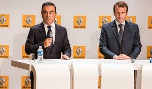 Carlos Ghosn satisfait du choix Macron