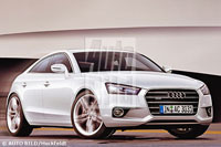 Future Audi A3: un coupé 4 portes en préparation?