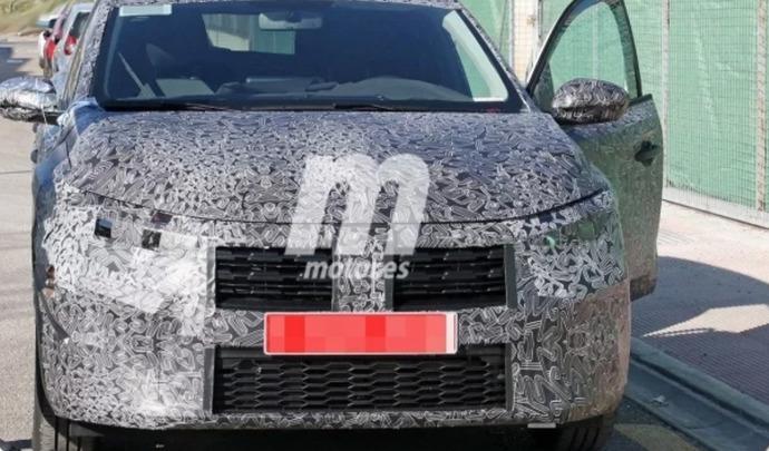Future Dacia Sandero : surprise pour la première fois