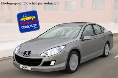 Peugeot 608, enfin le haut de gamme selon Peugeot
