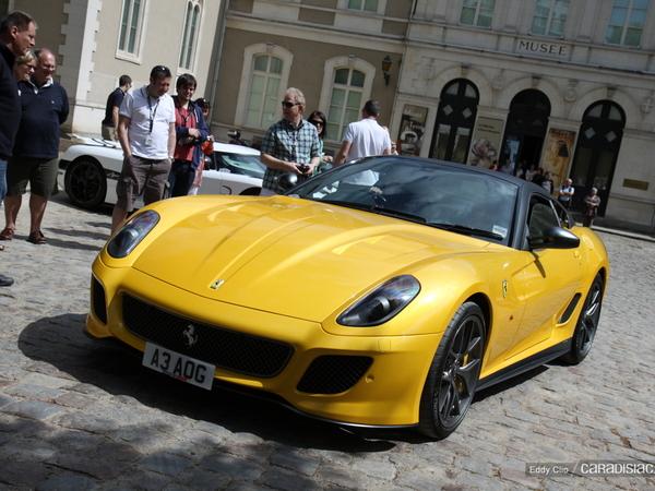 Photo du jour : Ferrari 599 GTO (Parade des Pilotes)