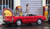 Miniature : 1/43ème - ALFA-ROMEO Spider 1300 Junior